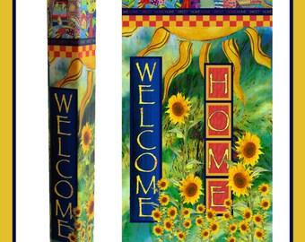 Home Sweet Home Garden Pole