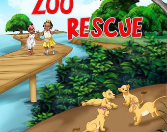 Zoo Rescue Childrens Book Autographed Copy