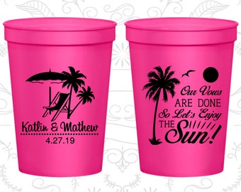 Stadium Cup, Personalized Cups, Wedding Cups, Personalized Plastic Cups, Stadium Cups, Party Cups, Plastic Cups (449)