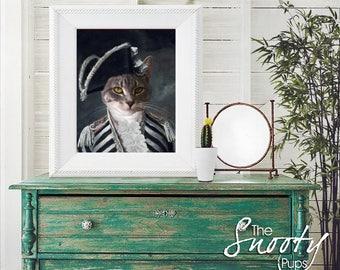 CAT PORTRAIT - Custom Dog Portrait, Custom Cat Portrait