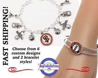 SAN FRANCiSCO Chain or Cuff Style BRACELET, Choose Style and Design +FREE SHiPPiNG & Discounts