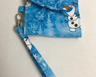 Olaf from Frozen Tri-Fold Wrist Wallet