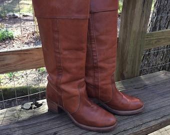 Vintage Frye Cuff Boots Size 8