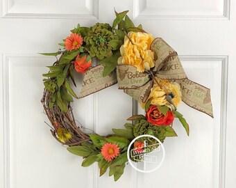 Memorial Wreath, Remembrance Wreath, Sympathy Wreath, Cemetery Wreath, Gravesite Wreath, Fishing Wreath, Wreath Street Floral