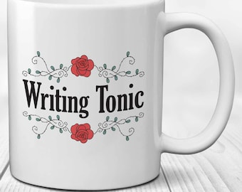 Funny Writers Mug for Authors, Academics and Poets - Writing Tonic