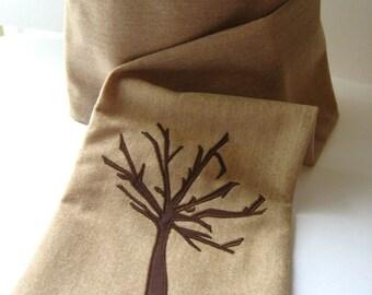 Italian Oatmeal Wool Scarf .. half price sale