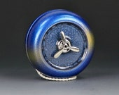 Toy Yo-Yo...Blue with Gold Stripe and Prism-Effects Prop Series