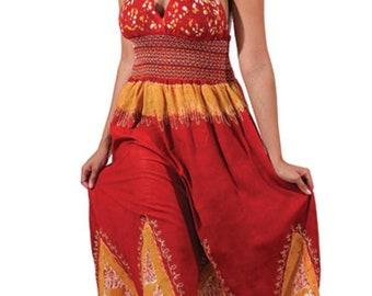 Scarlet Red Halter Dress