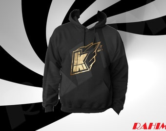 Kwebbelkop logo limited edition gold, youtuber ,Kid's  Hoodie