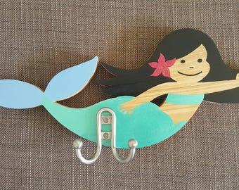 Kids Wall Hanger Mermaid