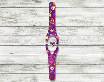 Day of the Dead MagicBand Decal | Día de Muertos Magic Band Skin | Available with Glitter and for MagicBand 1 or MagicBand 2 | Ready To Ship
