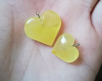 Heart Love Amber Lithuanian Suivenear Jewelry