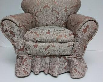 Chair miniature upholster Chair