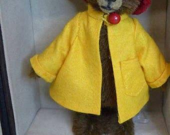 Mrs. Brown ebook für einen Bären mit Koffer und Kleidung, inkl. Schnittmuster in Deutsch and english
