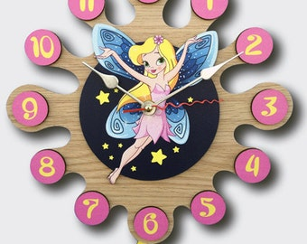 Pendulum Wall Clock Fairy