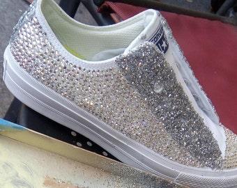 Blingy Bride Converse