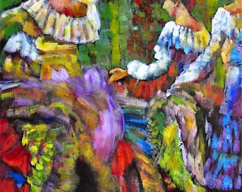 Motion in Colors, Spanish Dancers