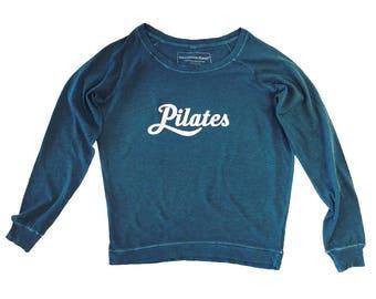 Pilates Long-Sleeved Tee, Pilates tee, Cotton Tee, Pilates T-Shirt, Pilates Sweatshirt, Pilates Top, Pilates Clothing, Pilates Gift, Pilates
