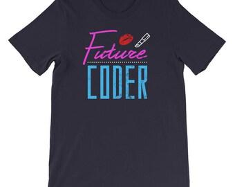 future - coder shirt - future coder shirt - the future is female - back to the future - future tee shirt - future programmer