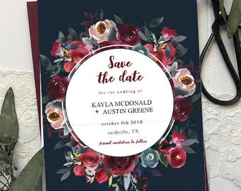 The Kayla Save the Date