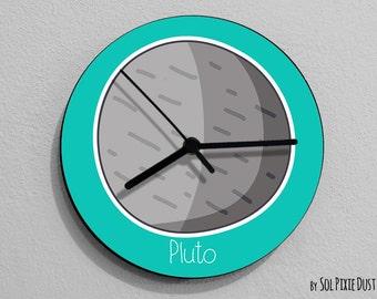 Pluto Planet - Wall Clock