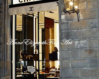 Chanel Art, Fashion Photography, Florence,Romance,Tuscany, Wine Country, Travel Decor, Classy & Fabulous,Dorm Decor,Italian Art, Coco Chanel