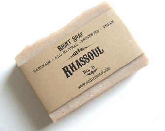 Clay Soap Bar All Natural Soap Homemade Vegan Soaps Unscented Handmade Soap Rhassoul Clay Soap