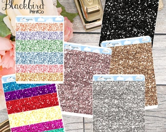 Glitter Headers - Planner Stickers [DR0012]