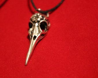 Crow | Raven | Hummingbird | Skull necklace