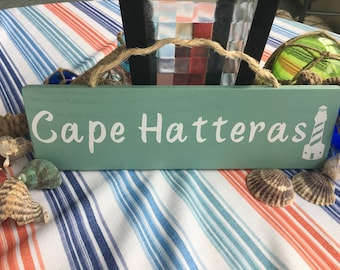 Cape Hatteras Lighthouse Wall Sign
