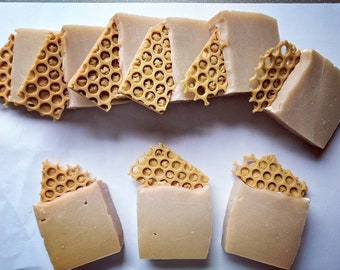 Caramel Honeybee Cold Process Soap