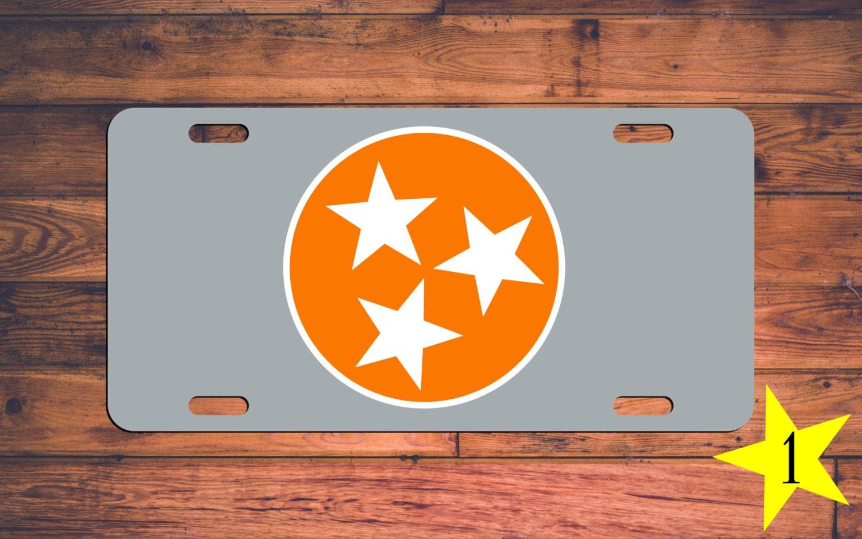 Tennessee VOLS Vanity License Plate TN Volunteers Car Tag 3