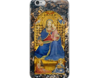Religious iPhone Case - Virgin of the Humility - all models - catholic iPhone cover - Virgin Mary cover - Mother Mary
