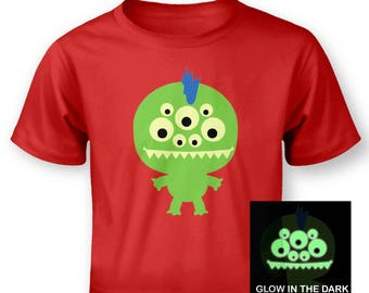 Monster (Glow In The Dark) baby t-shirt