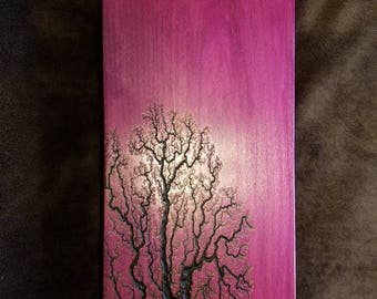 Lichtenberg meditation bench purple