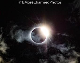 2017 Solar Eclipse, photo print, Kingstree, SC