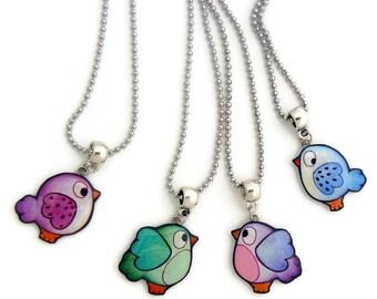 Kids pendant bird