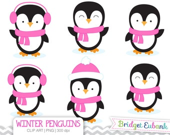 clip art penguin clipart winter penguins clip art penguin rh etsy com penguin clip art printable free penguin clip art for kids