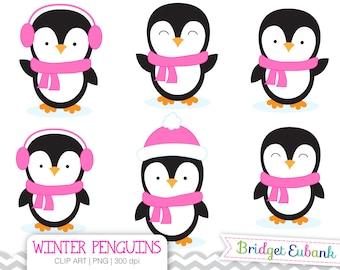 clip art penguin clipart winter penguins clip art penguin rh etsy com penguin clip art printable free penguin clip art for kids