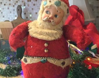 Vintage Musical Santa Clause