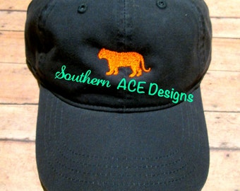 Embroidered Tiger Hat