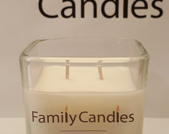 Family Candles - Violet Lime 7.5 oz Double Wicked Soy Candle