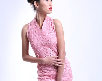 Stunning fitted vintage shift dress