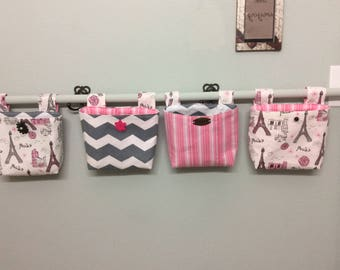 Adorable hanging pouches Set of 4