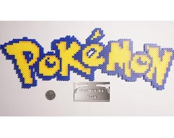 Pokemon Logo Perler Art