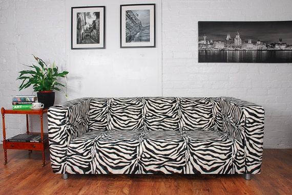 Ikea Ufficio Stampa : Ikea klippan sofa cover in zebra giraffe cow or leopard