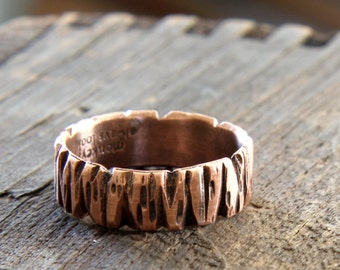 Tree Bark Ring (E0264)