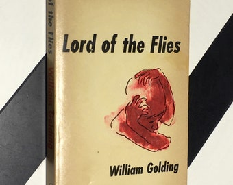 Lord of the Flies by William Golding With a Biographical and Critical Note by E. L. Epstein (1959) softcover book