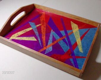 Color Burst Tray