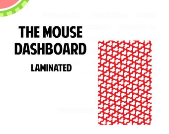 THE MOUSE Laminated Dashboard for Traveler's Notebook | .3mil | DB055